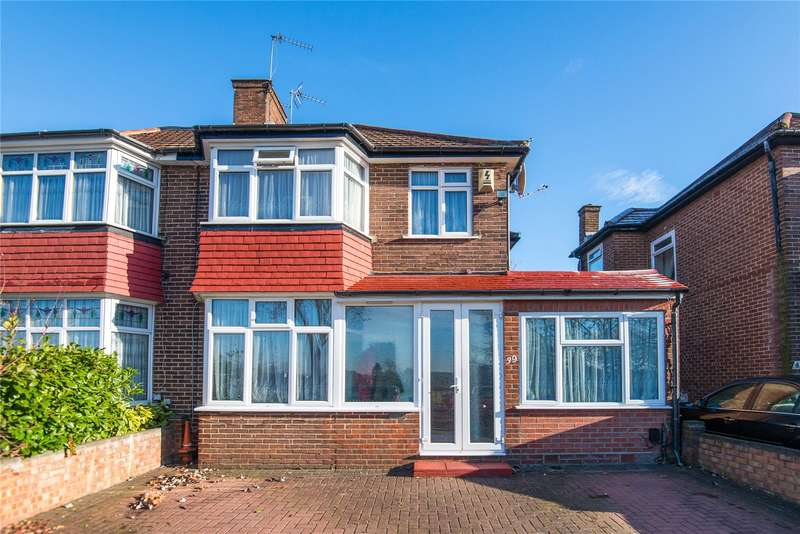 4 Bedrooms Semi Detached House for sale in Burnell Gardens, Stanmore, HA7