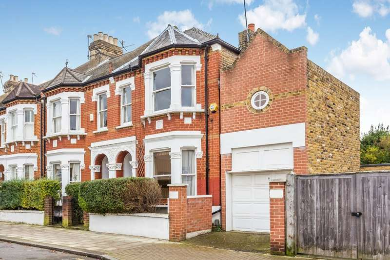 4 Bedrooms End Of Terrace House for sale in Roseneath Road, Battersea, London