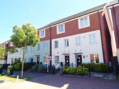 4 Bedrooms Terraced House for sale in West Lake Avenue, Hampton Vale, Peterborough, Cambridgeshire