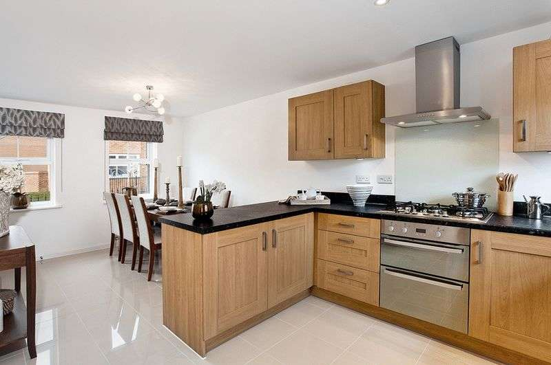 5 Bedrooms Detached House for sale in A brand new development of 2,3,4 and 5 bedroom homes at Bramble Chase , Honeybourne, Worcestershire WR11 7XR