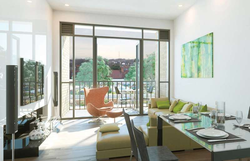 2 Bedrooms Flat for sale in The Old Gas Works, Sutton, SM1