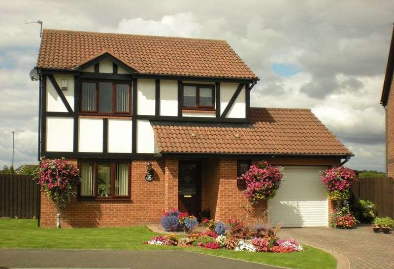 3 Bedrooms Detached House for sale in Edgemount, Killingworth, Newcastle Upon Tyne
