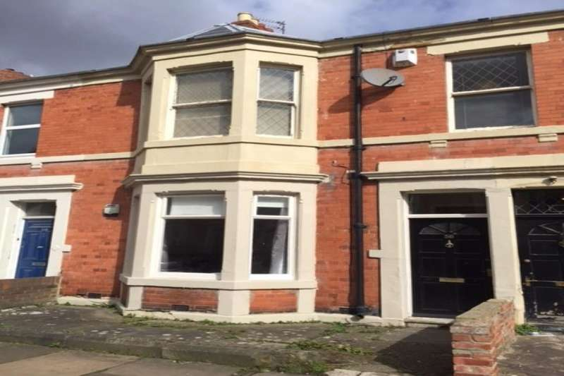 3 Bedrooms Flat for rent in Glenthorn Road, Newcastle Upon Tyne, NE2