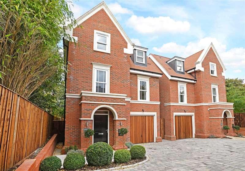 4 Bedrooms Detached House for sale in St Georges Avenue, Weybridge, Surrey, KT13