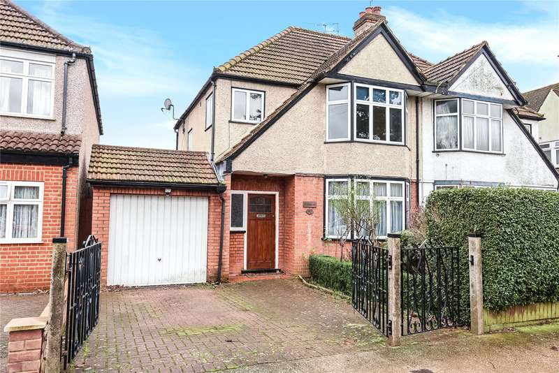3 Bedrooms Semi Detached House for sale in Manor Way, Ruislip, Middlesex, HA4
