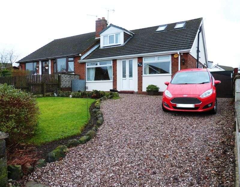 4 Bedrooms Semi Detached Bungalow for sale in New Street, Biddulph Moor, Staffordshire