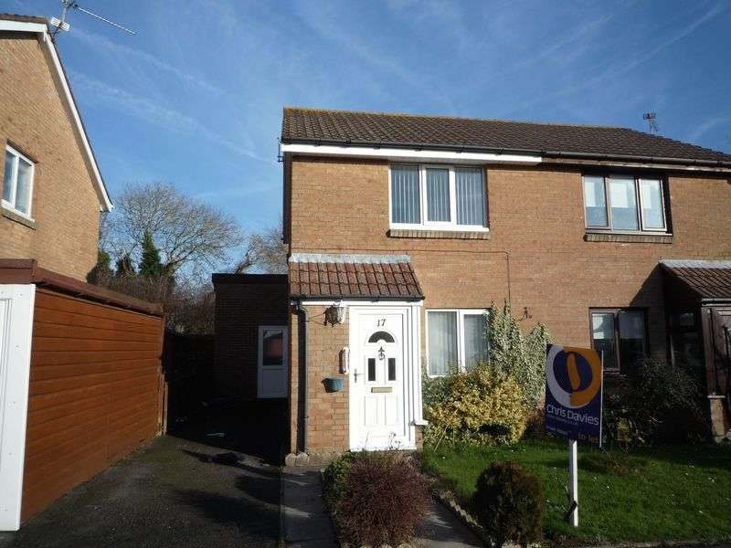 2 Bedrooms Semi Detached House for sale in Murlande Way, Rhoose
