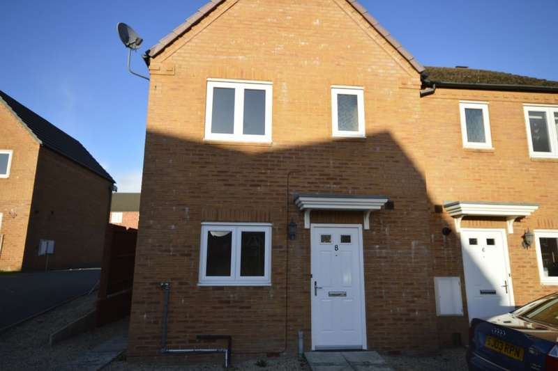 3 Bedrooms Semi Detached House for sale in Cae Melin Avenue, Oswestry, SY11