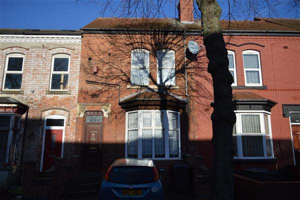 2 Bedrooms Terraced House for sale in Antrobus Road, Handsworth, Birmingham