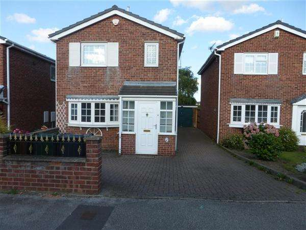 3 Bedrooms Detached House for sale in Buckingham Way, Barnsley