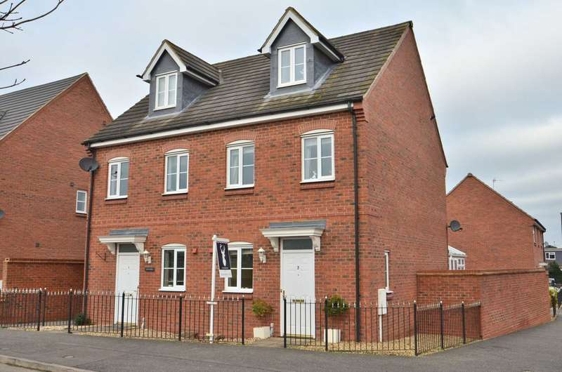 4 Bedrooms Semi Detached House for sale in The Meadows, Old Stratford