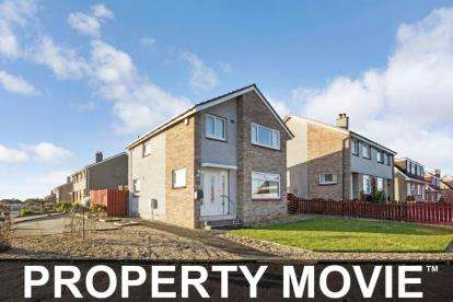 3 Bedrooms Detached House for sale in Cumbrae Drive, Kilmarnock
