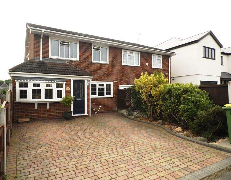 4 Bedrooms Semi Detached House for sale in Clarence Road, Rayleigh