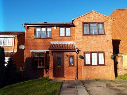 4 Bedrooms Detached House for sale in Stone Pine Close, Hednesford, Cannock, Staffordshire