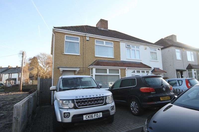 3 Bedrooms Semi Detached House for sale in Counterpool Road, Bristol