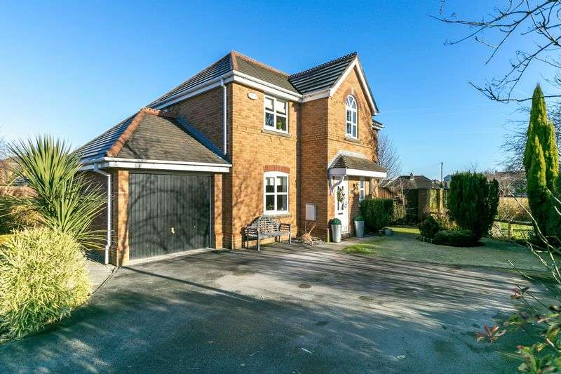 4 Bedrooms Detached House for sale in Dewberry Fields, Upholland, WN8 0BQ