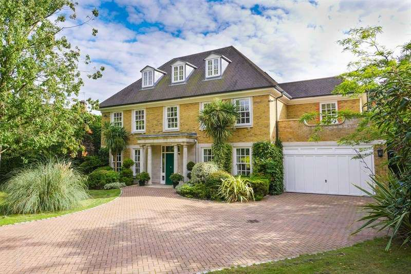 6 Bedrooms Detached House for sale in Onslow Road, Hersham, Walton-On-Thames