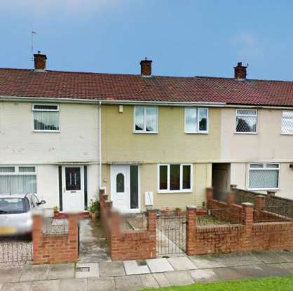 2 Bedrooms Terraced House for sale in Gouldsmith Gardens, Darlington, Durham, DL1 2DU
