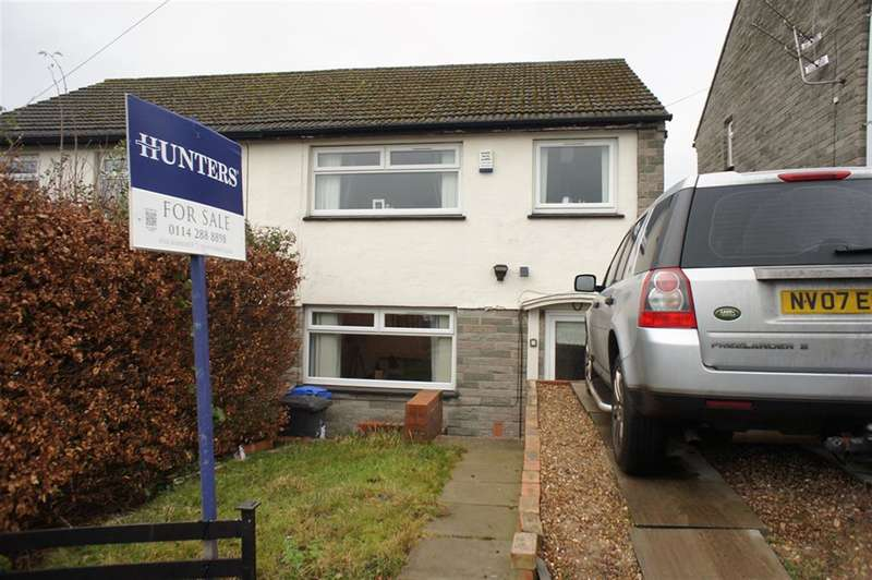 3 Bedrooms Semi Detached House for sale in Beechwood Road, Stocksbridge, Sheffield, S36 1AG