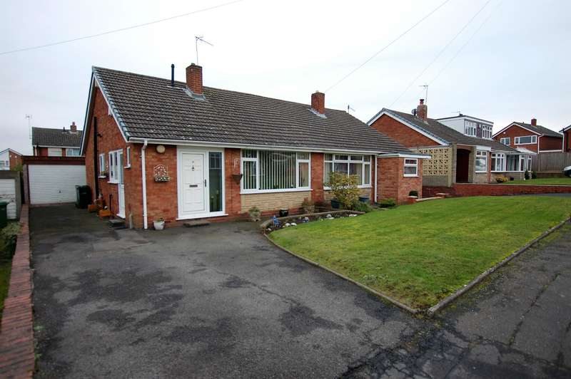 2 Bedrooms Bungalow for sale in Conway Close, Kingswinford, DY6 8PT
