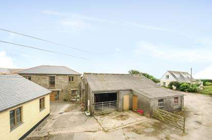 Detached House for sale in Mount Hawke, Truro, Cornwall