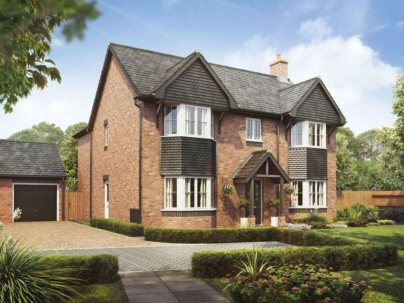 4 Bedrooms Detached House for sale in Plot 5, The Oak, Barley Fields, Uttoxeter