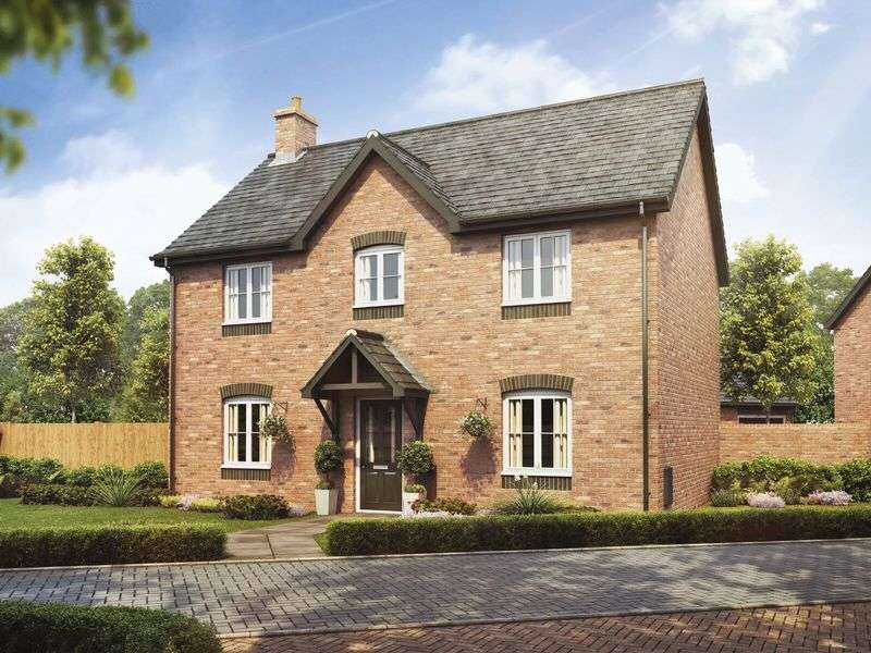 4 Bedrooms Detached House for sale in Plot 6, The Beech, Barley Fields, Uttoxeter