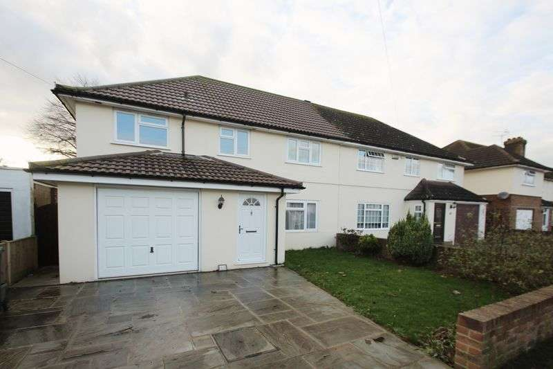 4 Bedrooms Semi Detached House for sale in Estridge Way, Tonbridge