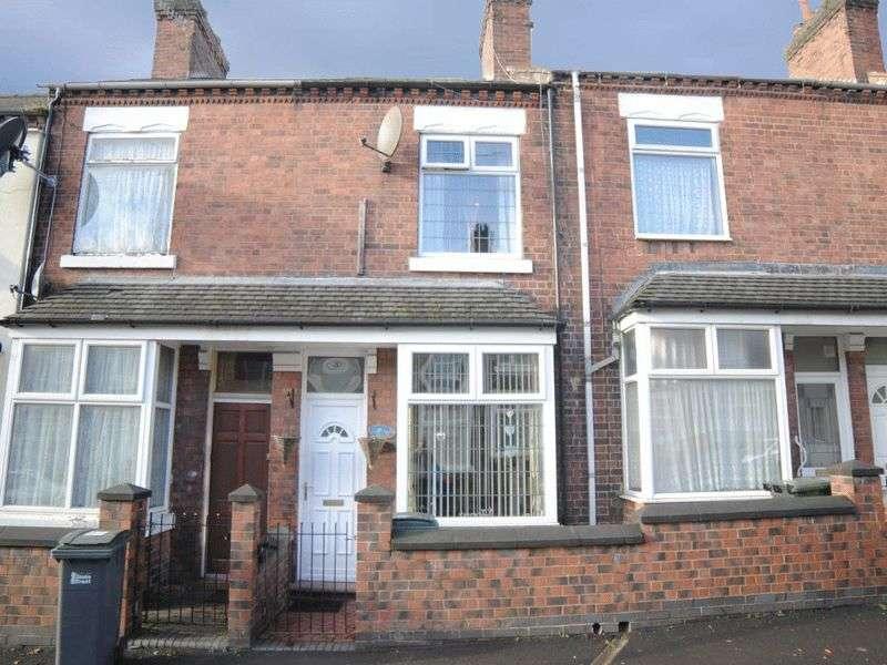 2 Bedrooms Terraced House for sale in Chamberlain Street, Shelton, Stoke-On-Trent, ST1 4NR