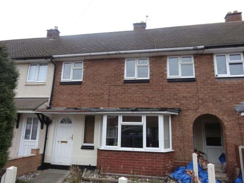 3 Bedrooms Terraced House for sale in Margam Crescent, Walsall