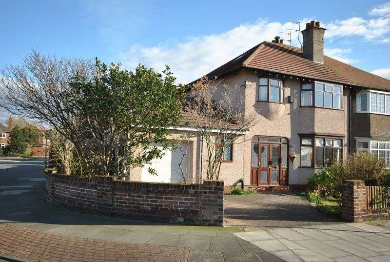 4 Bedrooms Semi Detached House for sale in Queens Avenue, Meols