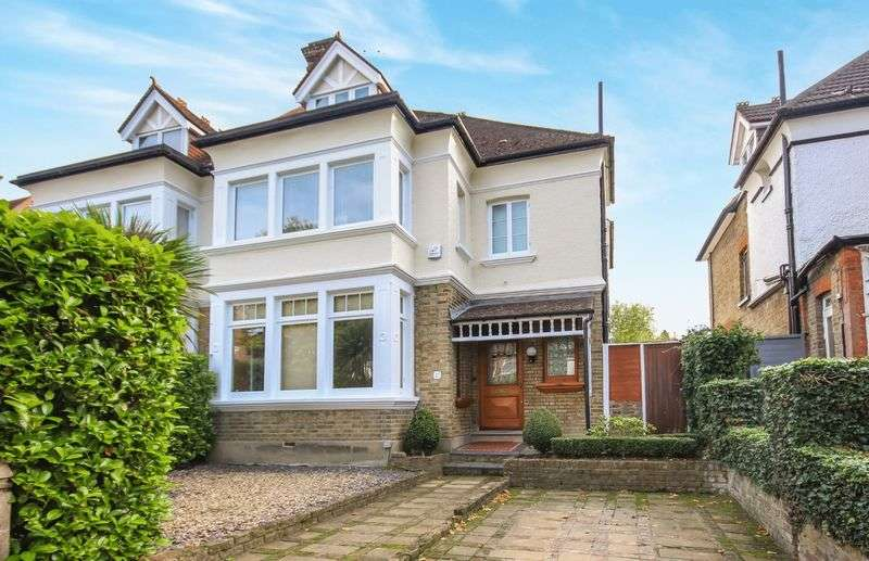 5 Bedrooms Semi Detached House for sale in SOUTH SUTTON