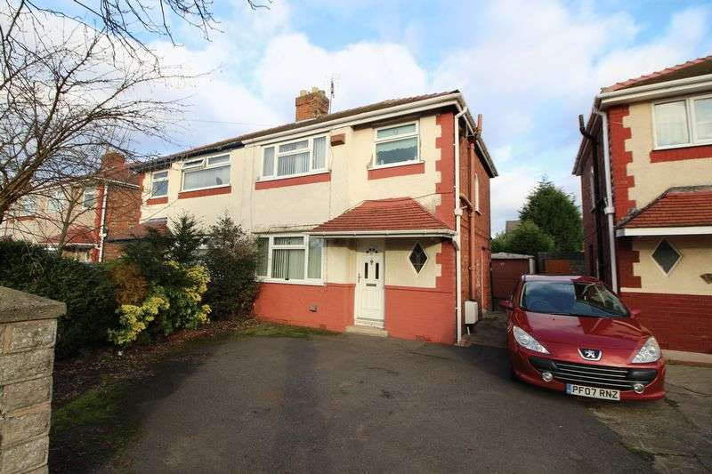 3 Bedrooms Semi Detached House for sale in Thornleigh Avenue, Eastham