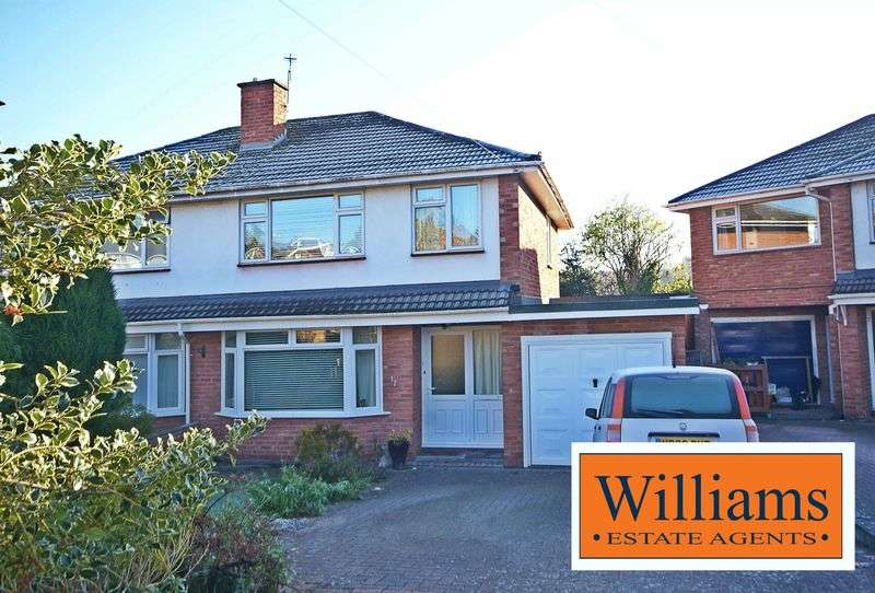 3 Bedrooms Semi Detached House for sale in Carless Close, Hereford