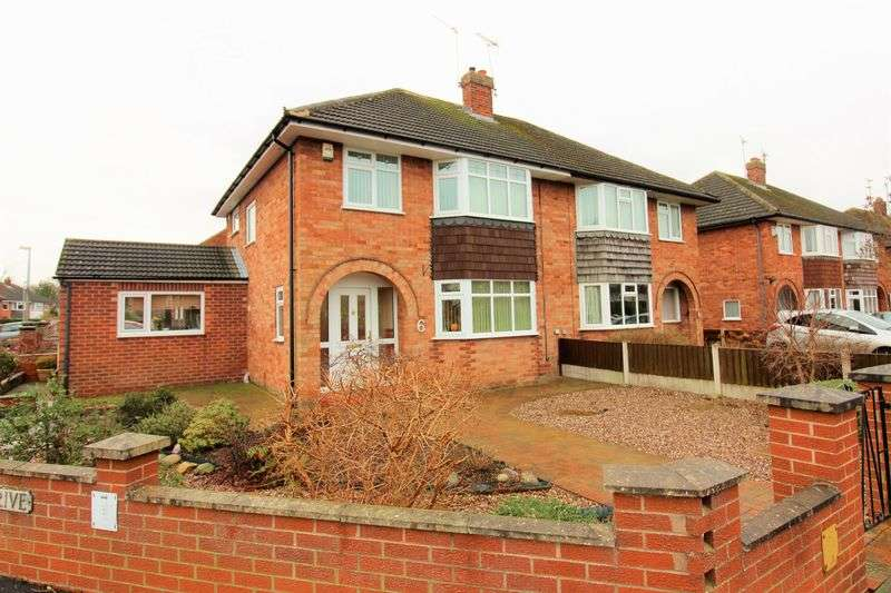 3 Bedrooms Semi Detached House for sale in Mannings Lane, Hoole, Chester