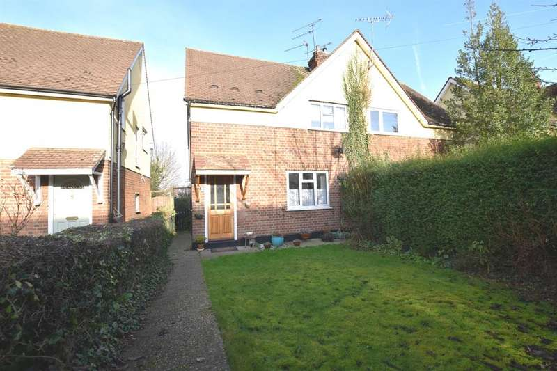 3 Bedrooms Semi Detached House for sale in Manor Road, Harlow, CM17