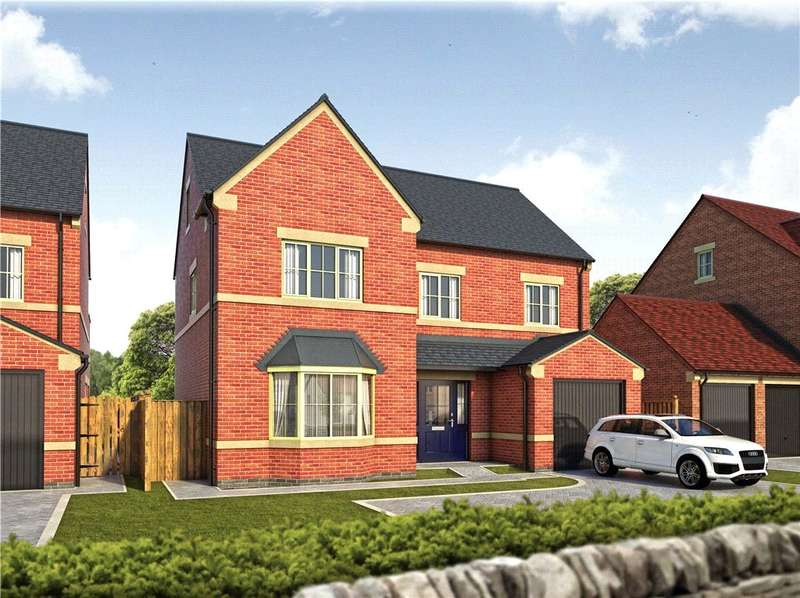 4 Bedrooms Detached House for sale in Paddocks Gate, Birkinstyle Lane, Shirland, Derbyshire, DE55