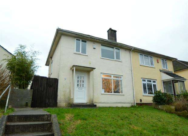 3 Bedrooms Semi Detached House for sale in Uxbridge Drive, Plymouth, Devon
