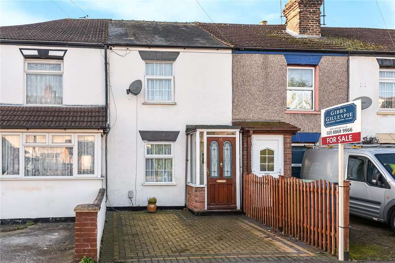 2 Bedrooms Terraced House for sale in Letchford Terrace, Headstone Lane, Harrow, Middlesex, HA3