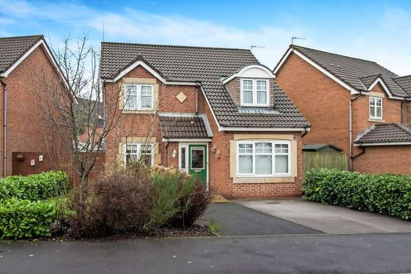 3 Bedrooms Detached House for sale in Prince Albert Court, St Helens, WA9 3GD