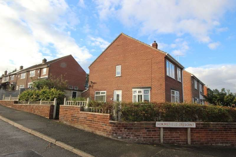 3 Bedrooms Detached House for sale in Holmefield Crescent, Ilkeston, DE7