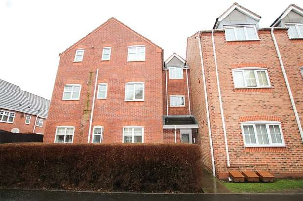 2 Bedrooms Flat for sale in Mulberry Drive, Lichfield, Staffordshire