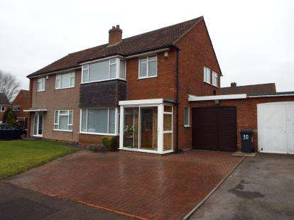 3 Bedrooms Semi Detached House for sale in Peach Ley Road, Selly Oak, Birmingham, West Midlands