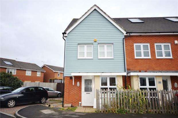 3 Bedrooms End Of Terrace House for sale in Bantry Road, Cippenham, Berkshire