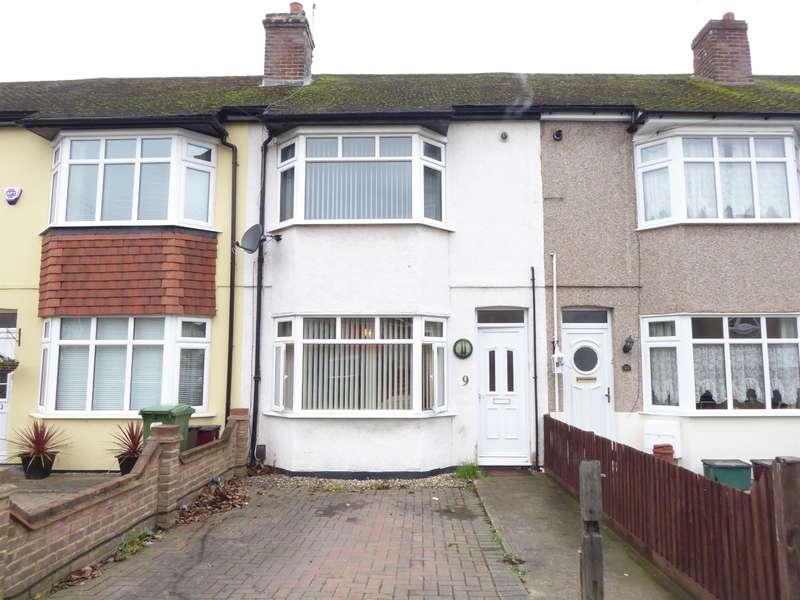 2 Bedrooms Terraced House for sale in Woodside Road, Bexleyheath, Kent, DA7 6LB
