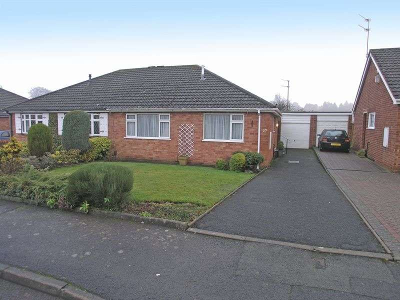 2 Bedrooms Semi Detached Bungalow for sale in STOURBRIDGE, Norton, Severn Road