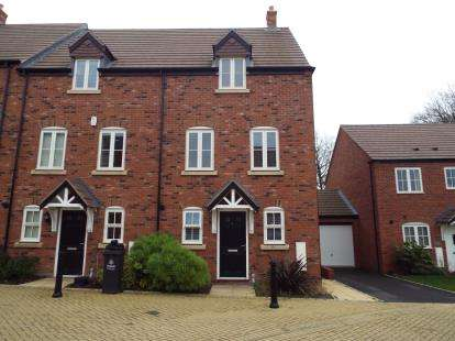 3 Bedrooms End Of Terrace House for sale in Stewards Field Drive, Birmingham, West Midlands