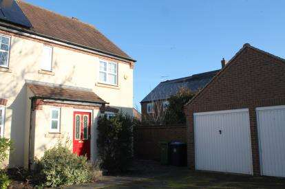 3 Bedrooms End Of Terrace House for sale in Christie Way, Stratford-Upon-Avon, Warwickshire