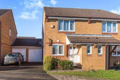 2 Bedrooms Semi Detached House for sale in Columbine Gardens, Oxford, Oxfordshire, Uk