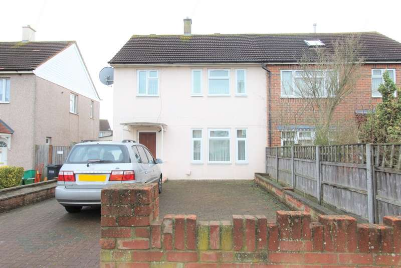 3 Bedrooms Semi Detached House for sale in Stroud Green Way, Addiscombe, CR0